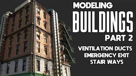 Modeling Buildings In Blender Part 2
