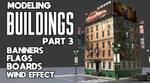 Modeling Buildings In Blender Part 3 by huzzain