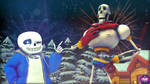 The Skeleton Brothers (Remake) by Alderart39