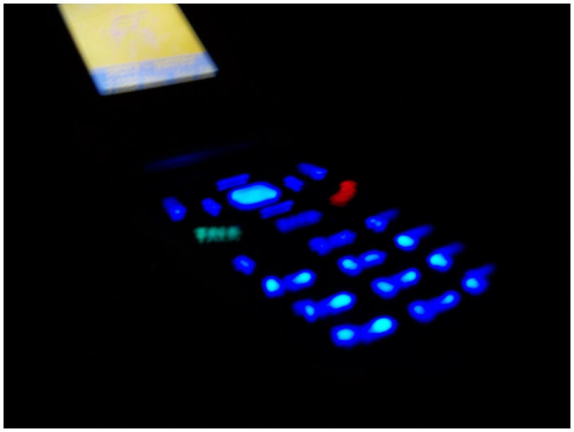 Phone In The Dark - 1 by M47R1X