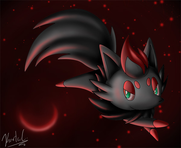CM: Zoroark and Zorua by shadowhatesomochao on DeviantArt