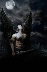 Petrified Angel by Sagitarii