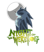 Night of the werehog design by Furgemancs