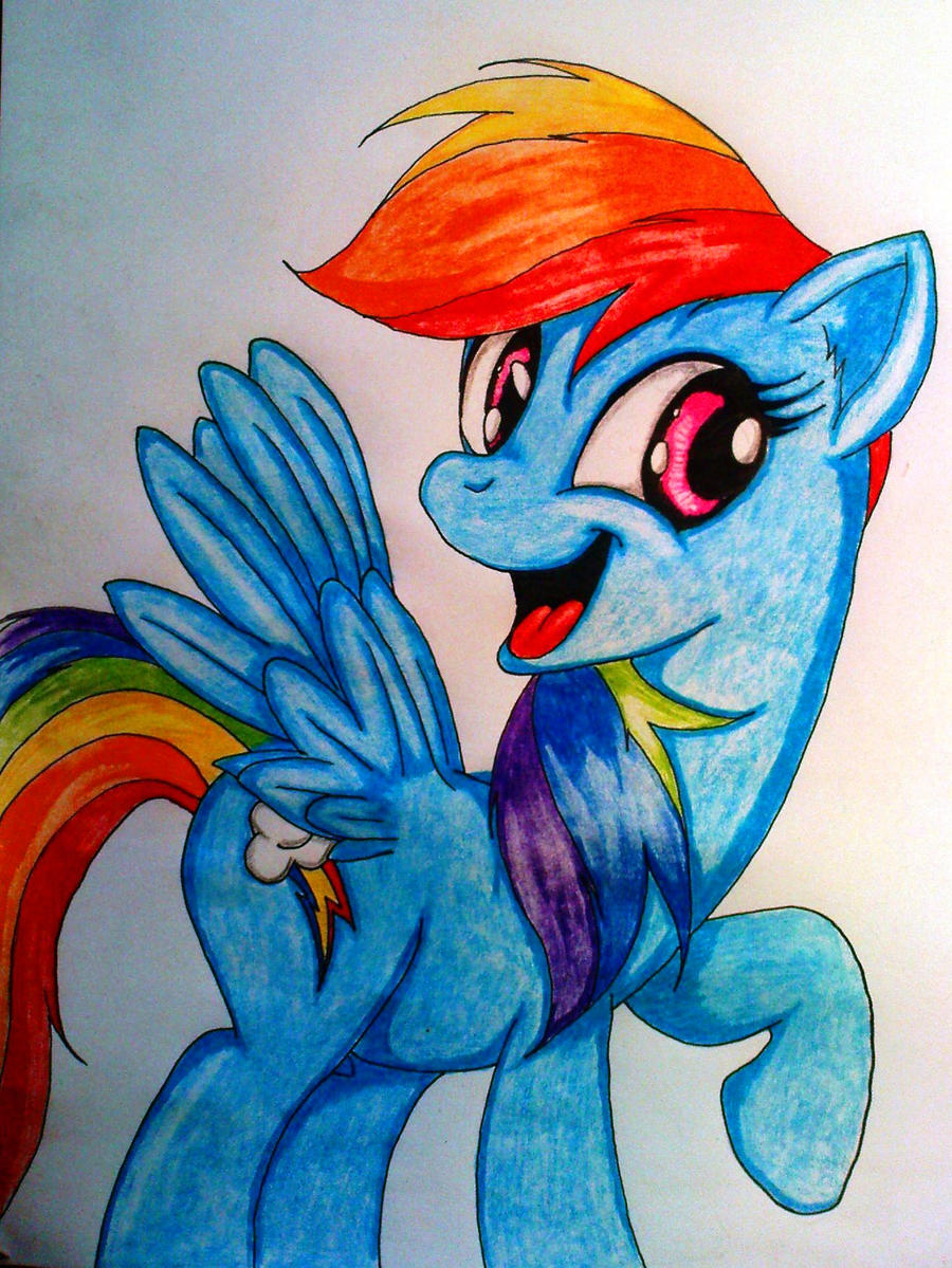 Rainbow Dashe by Tomek2289