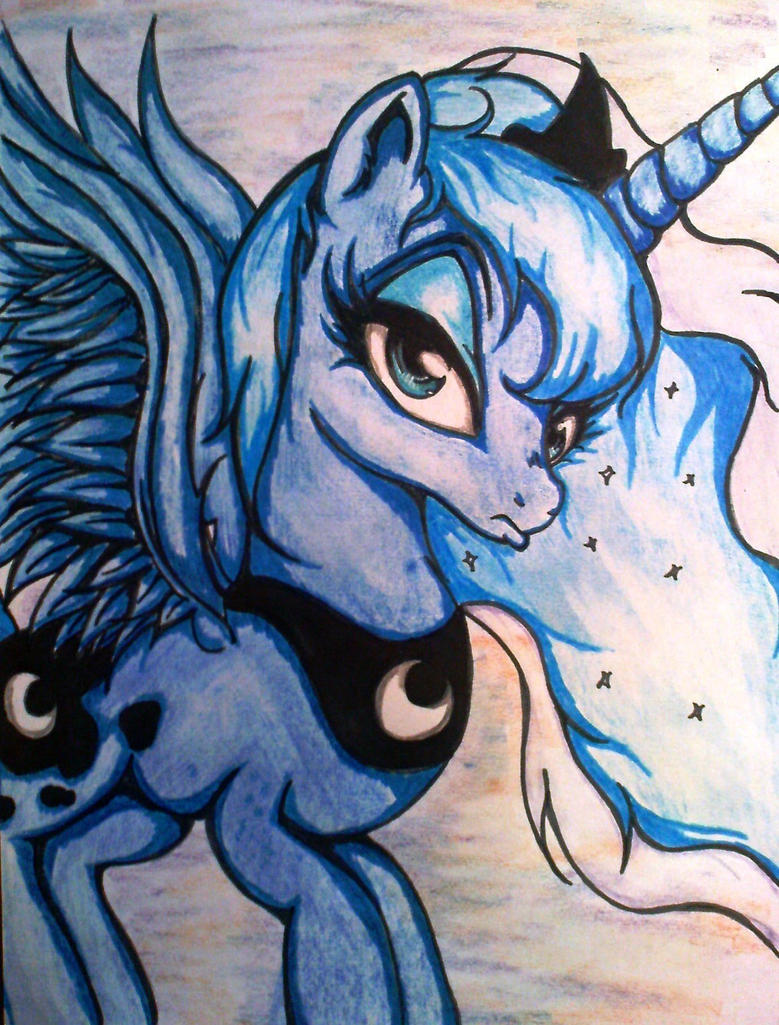Princess Luna by Tomek2289