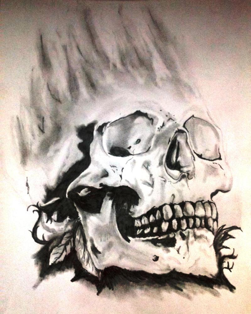 Smoked skull by Tomek2289
