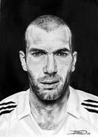 Zinedine Zidane by dinodevic12