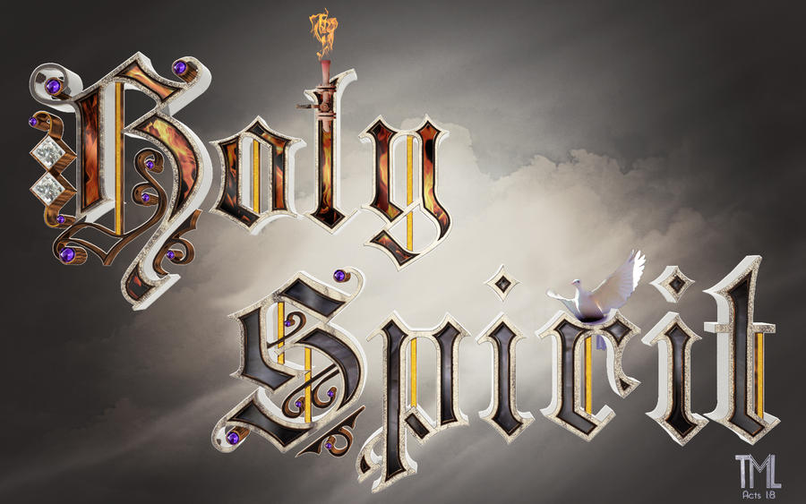 Holy Spirit by tabycat25