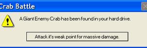 Crab Error by MasterRob