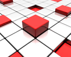 Shifted Blocks: Red by Epheus