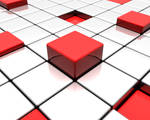 Shifted Blocks: Red