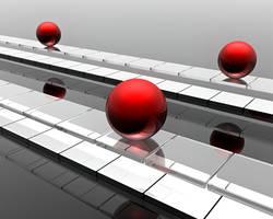 Parallel Sphereways: Red Metal by Epheus