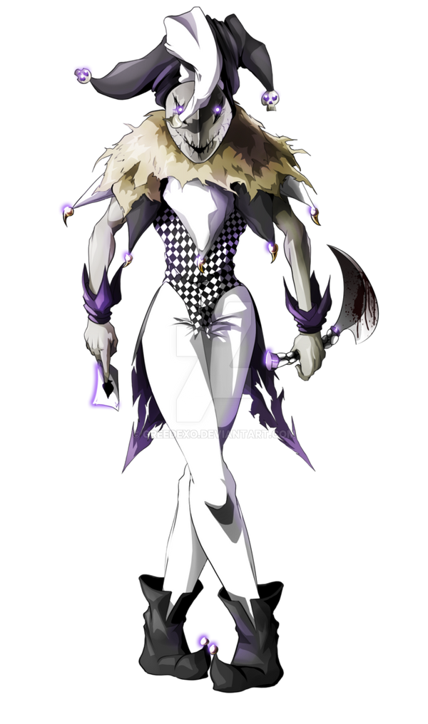Anime Jester Characters : Geinzo the dark jester by creedexo on deviantart