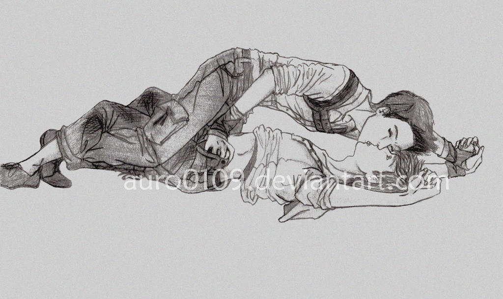 Minho et Newt by Auro0109