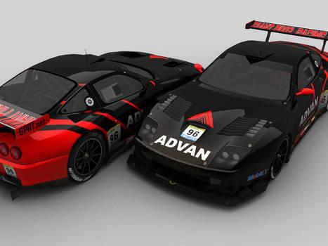 GPRT Advan Ferrari 550 nr.96