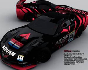 GPRT ADVAN Corvette C5-R