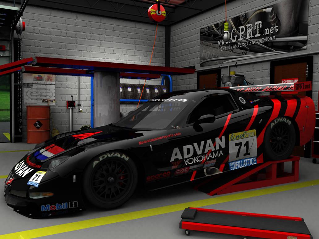 2004 GPRT ADVAN Corvette C5R