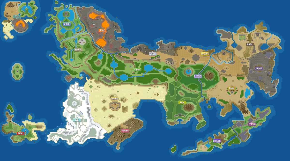 Mystoria Overworld Map by Shadowlord90 on DeviantArt