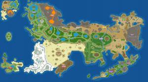 Mystoria - Overworld Map