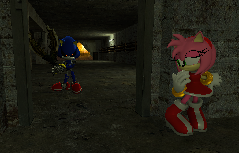 Gmod: Sonic - Don't Cry Amy by Shadowlord90