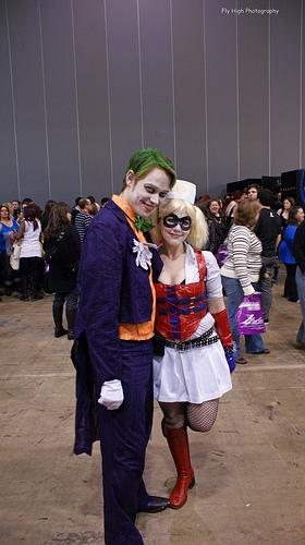 Arkham's most famous couple by deadeuphoric