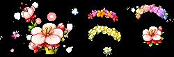 Flowers by LittleGreenCreatures