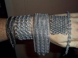 Bracelet Sampler by ChainedWolfe
