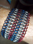 Red, White and Blue 4-in-1 Euro Stretchmail by ChainedWolfe