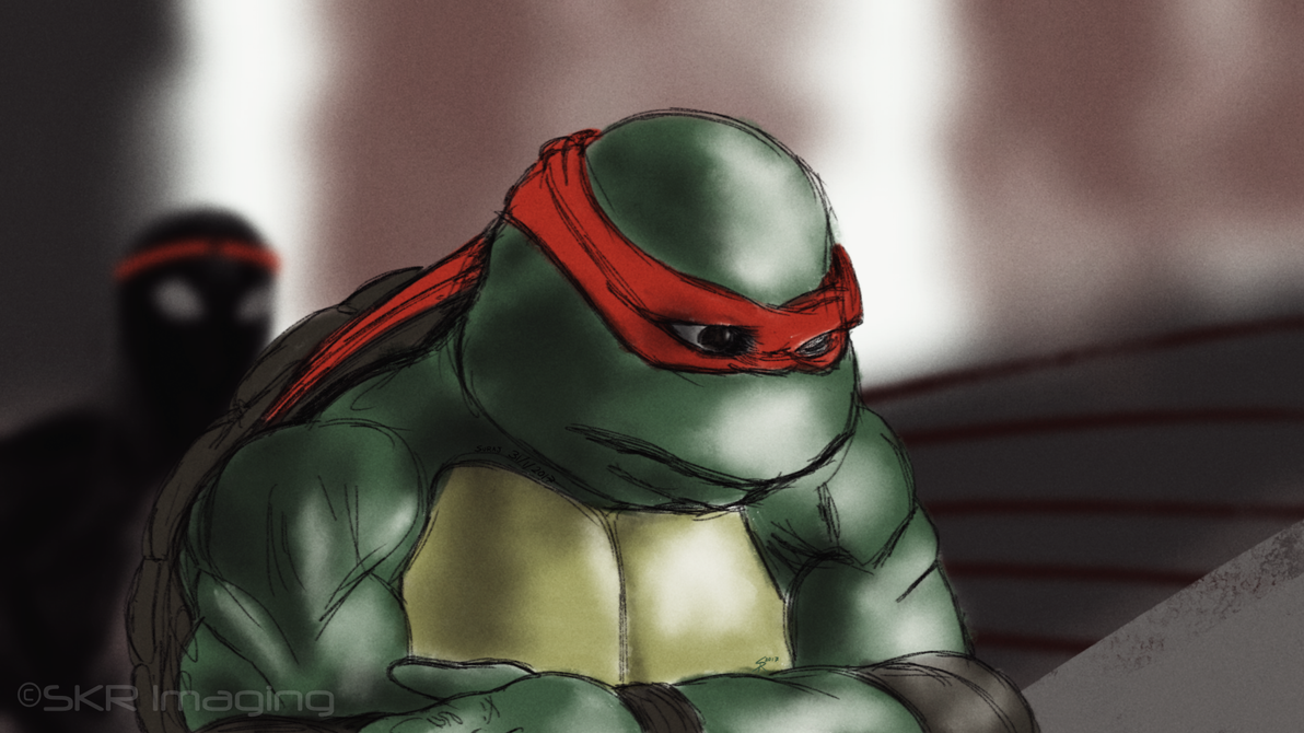 Look out Raph! by flameofwar