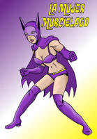 Batwoman '68 (La Mujer Murcielago) by jay042