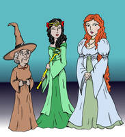 The Good Witches of Oz by jay042