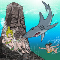 She-Gods of Shark Reef by jay042