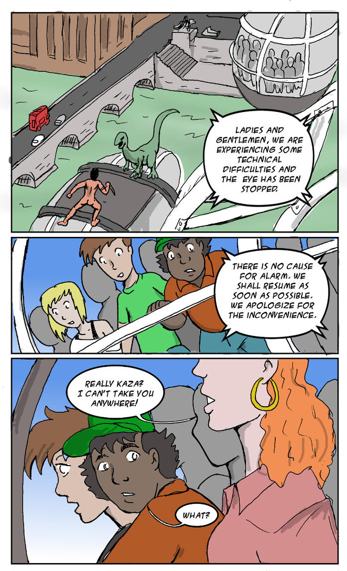 Comic Fury Valetine's Day Exchange 2017 (2 of 3) by jay042