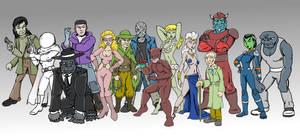 Fox Feaures Syndicate Villains lineup