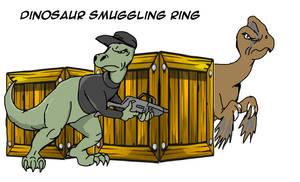 Dinosaur Smuggling Ring by jay042