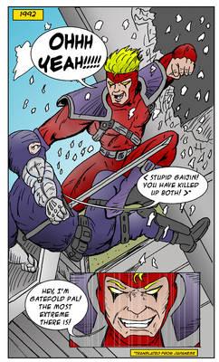 Gatefold Comic Idea