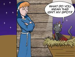 Comic Fury Christmas Exchange 18: Pawprints by jay042