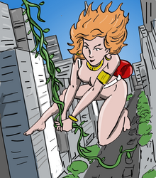 Gwenna in the city by jay042