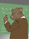 30 Days 30 Characters  02: Professor Bear