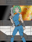 30 Days 30 Characters  16: Space Girl