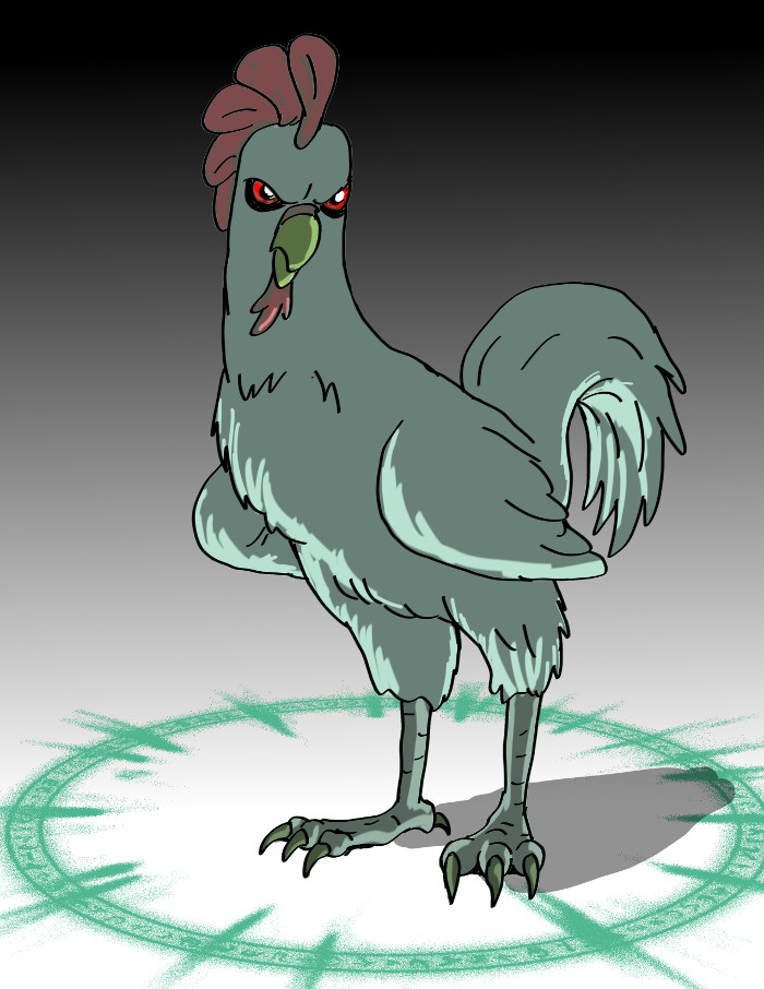 30 Days 30 Characters  26:Hell Chicken by jay042