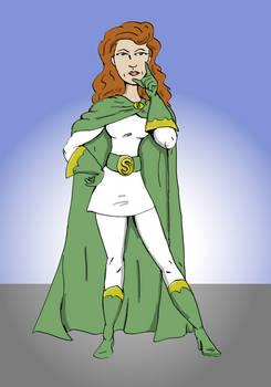 Rea Irvin's Superwoman