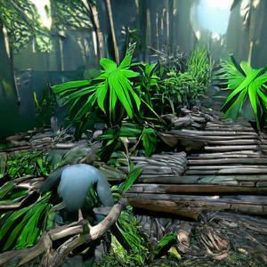 cartoon jungle forest CryEngine