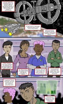 Murderbot Diaries Fan comic 01