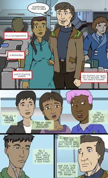 Murderbot Diaries Fan comic 03