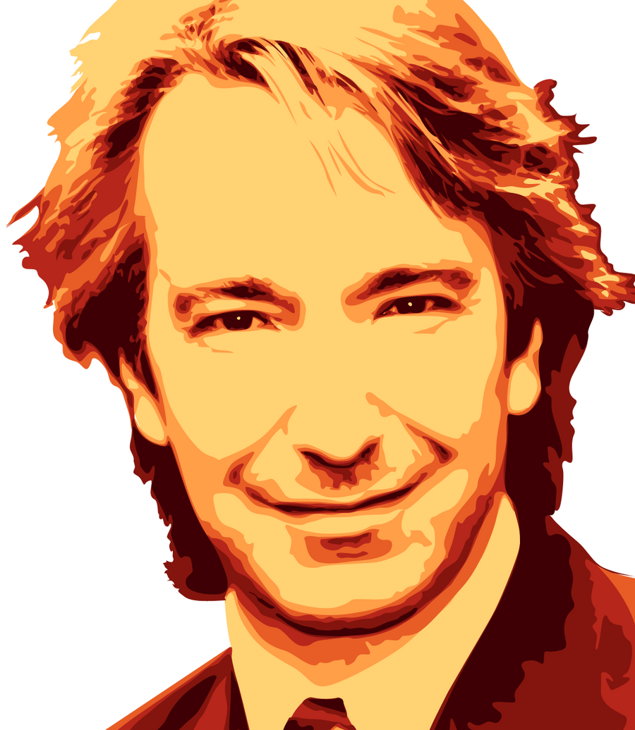 Alan Rickman by MicheeMee