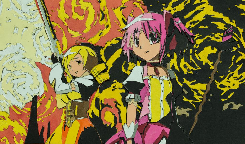 Mami and Madoka by Death-Pony7