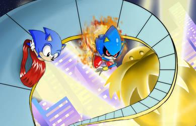 Sonic CD by VioletChiko