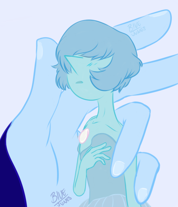 Some SU fanart from a while back I love blue Porl so much.