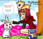 MAPLE STORY: hykraice+rabbit